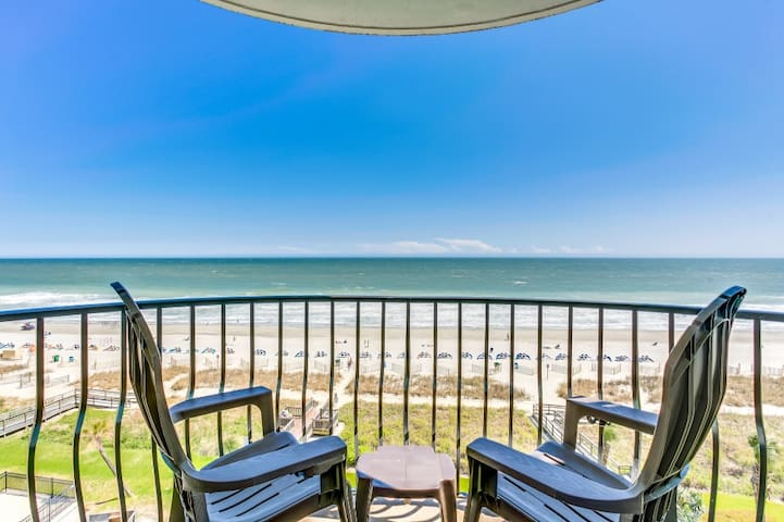 Oceanfront 3 BDR Condo with 2 Beach Front Terraces