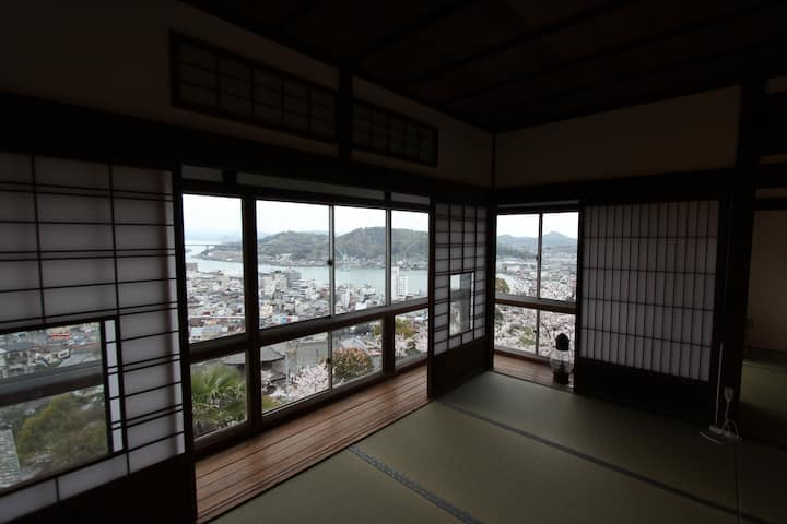Shared Room w/view of Onomichi channel 2