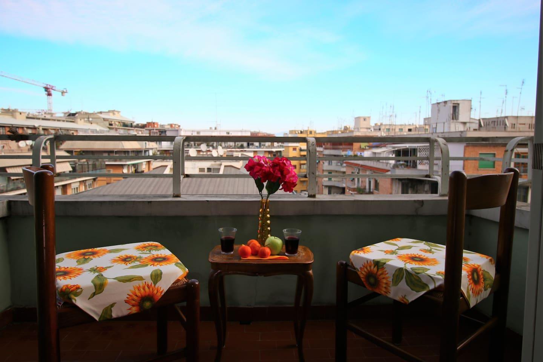Kitchen's terrace