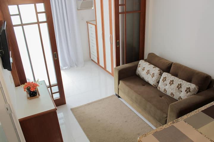 Apartamento lindo e aconchegante
