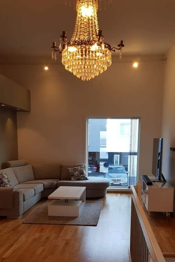 3 rooms for rent in a modern house