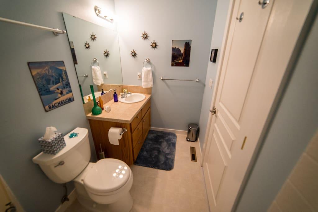 Super Clean Bathroom!