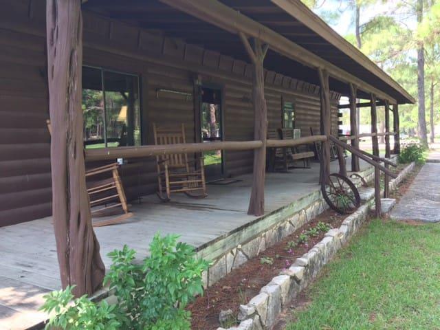 Granbury Log Home