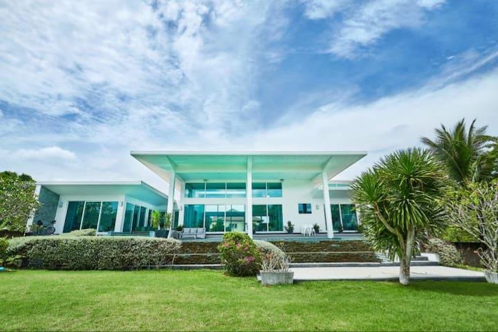 独栋豪华别墅极限运动核心近高端海滩独享超大泳池4Bedroom Villa Private Pool