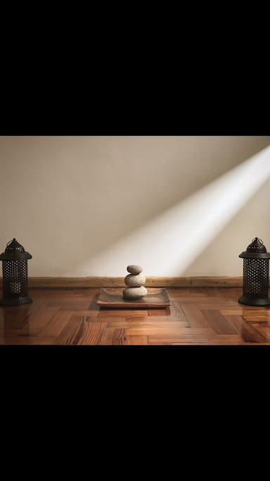 Meditation and Guest room.