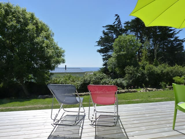maison vue mer - Plogoff