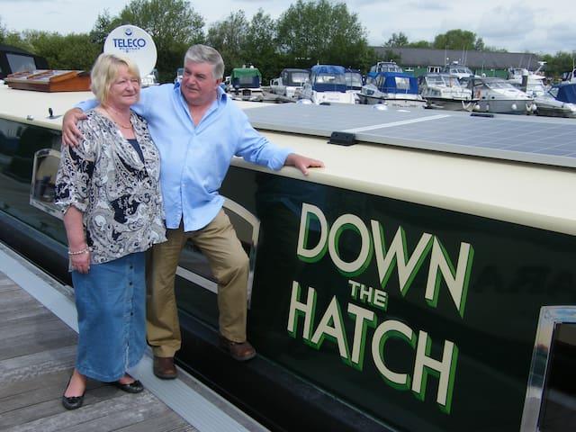 Hotel Boat - River Thames Cruising Breaks - Goring - Boot