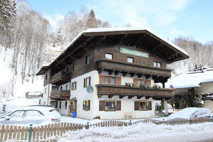 Gemütliches Apartment in Saalbach-Hinterglemm nahe Skigebiet