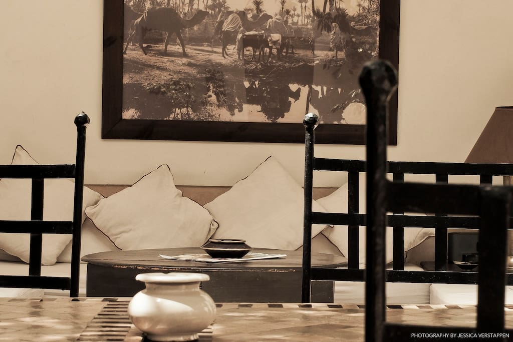 Riad dar zhar au coeur de la medina de marrakech for Chambre d hotes marrakech