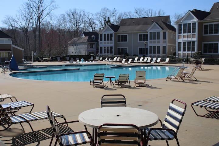 Pool at the Townes