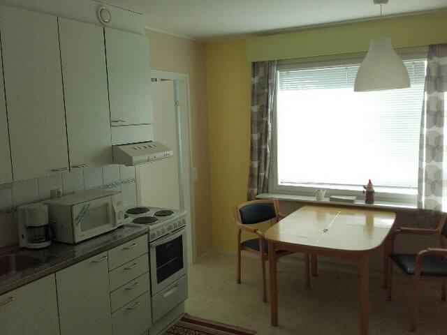 Asunto muutaman päivän-viikkojen asumiseen