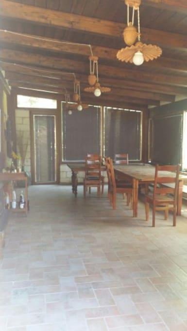 Loggiato verandato - The veranda