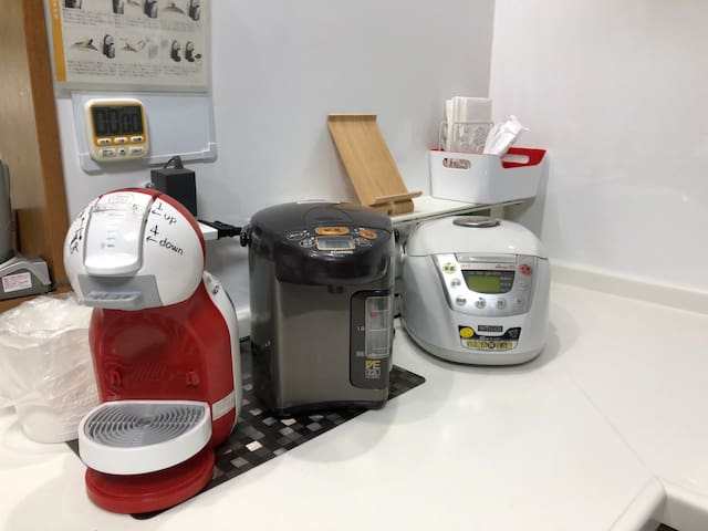Kitchen Electric kettle, coffee maker, rice cooker, etc.