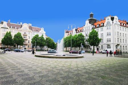 zentral u ruhige whg mit balkon - München