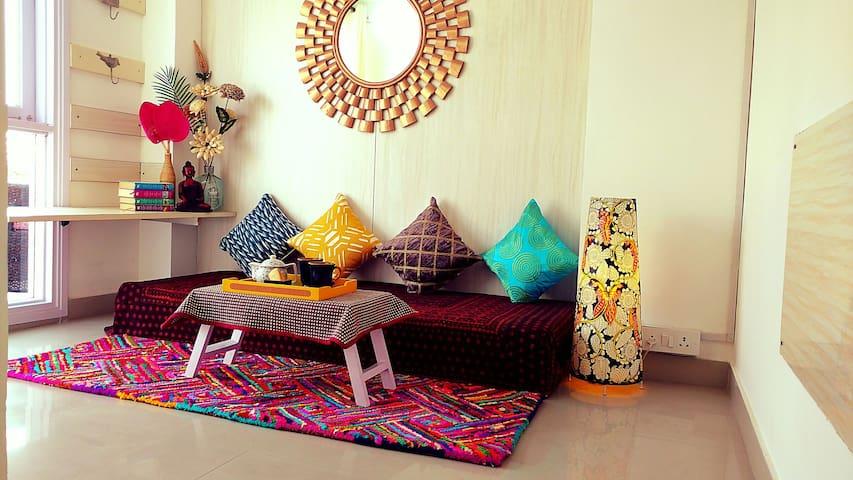 The Bougainvillea Terrace - New Delhi, Delhi, IN - Apartamento