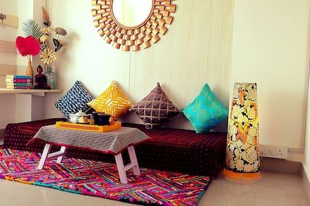 The Bougainvillea Terrace - New Delhi, Delhi, IN - Квартира