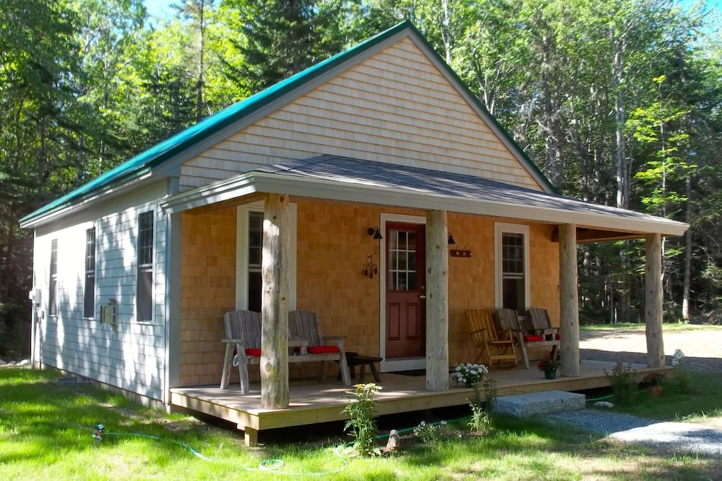 Cabin In The Woods Cabins For Rent In Hancock Maine