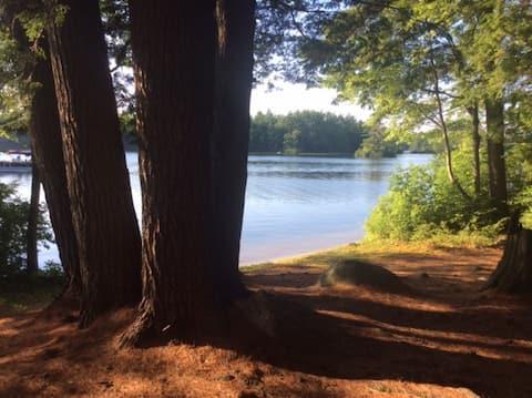 Waterfront Serenity on Pawtuckaway Lake