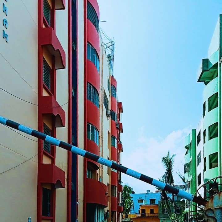 Clean and cozy apartment in the heart of Puri
