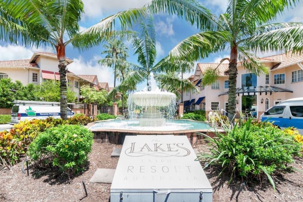 The Lakes award winning resort.