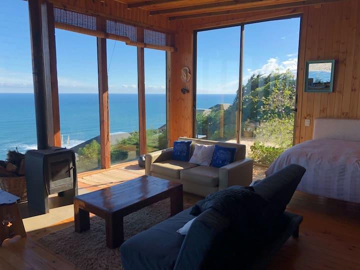 Loft con increíbles vistas del mar y playa.