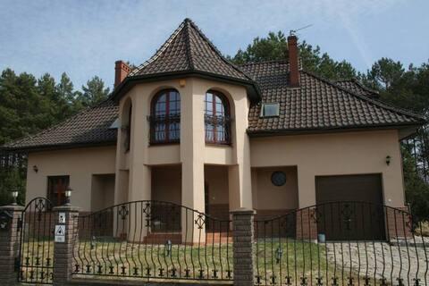 Dom nad jeziorem - Lipy - 17km od Gorzowa Wlkp.