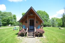 You deserve to get away and recharge in one of Our 13 Gorgeous Cabins