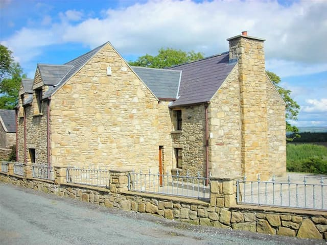 Country House with Stunning View near Donegal town