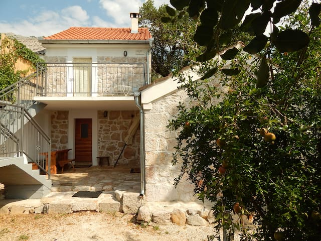 Stone house in the traditional style - Starigrad - Huis