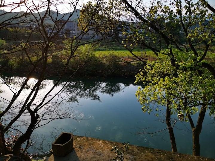 水石居* 听松           灵山脚下,槠溪河畔