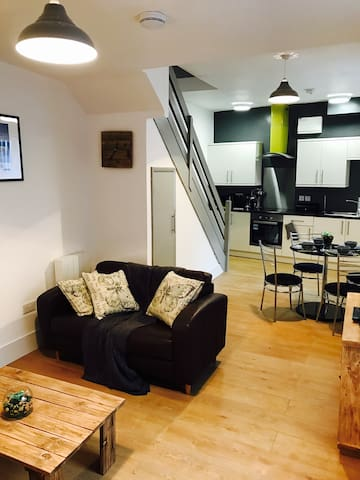 Modern apartment in the hub of Alnwick.