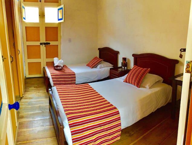 Habitacion Twin Privada Hostal Ciudad de Segorbe