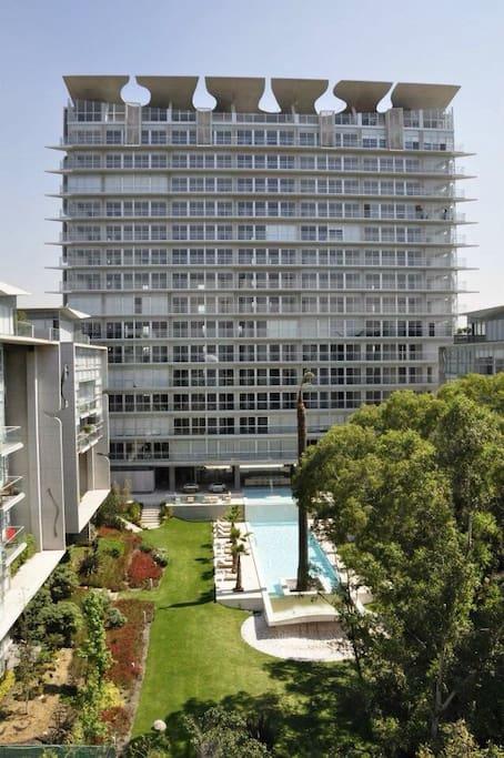 Habitaci n en lujoso departamento departamentos en for Alquiler habitacion departamento