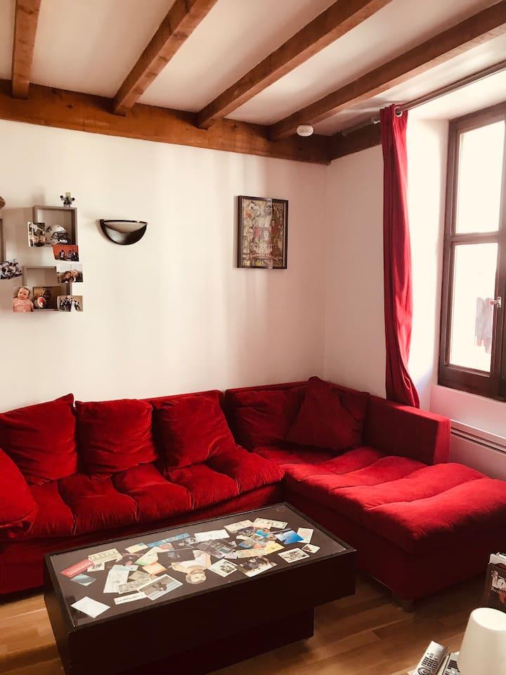 Appartement 2 pièces idéalement placés