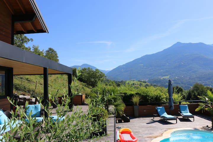 villa moderne ossature bois