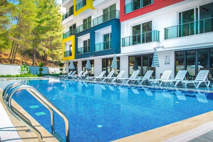 Аренда квартиры в Алании, концепция отеля