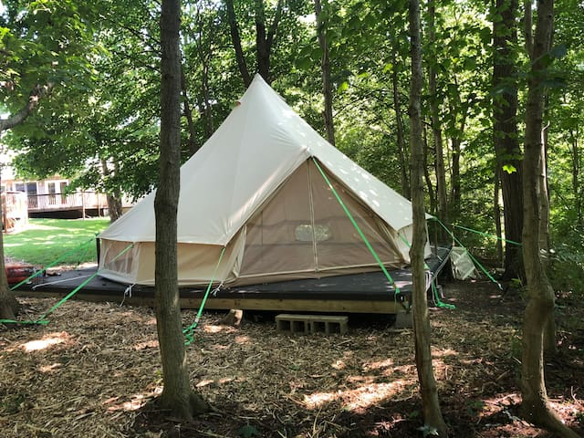 12 Beautiful Yurts In Ohio The Usa Trip101 A yurt, or ger, uses classic architectural principles to construct a circular lattice structure with minimal materials that holds up to nearly anything the. 12 beautiful yurts in ohio the usa