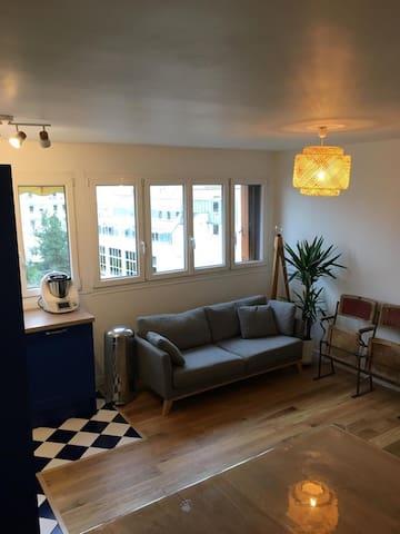 Appartement boulogne 3 chambres idéal famille