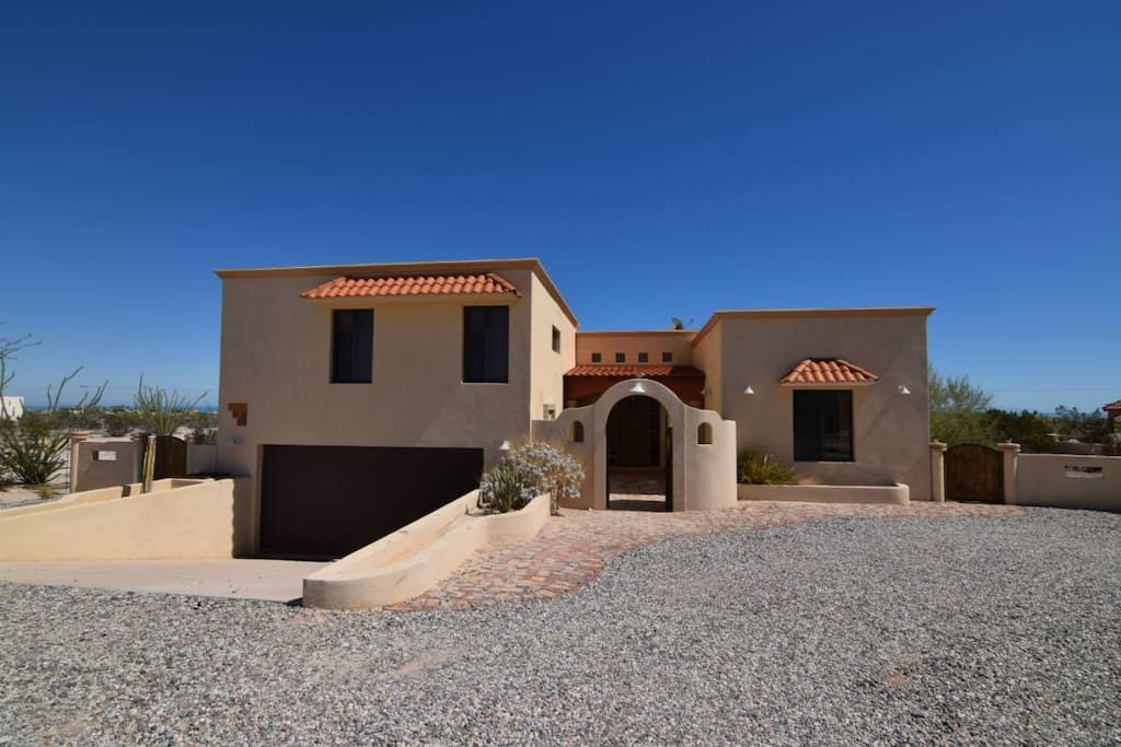 El Dorado Ranch San Felipe Vacation rental - Casa Welch: front view
