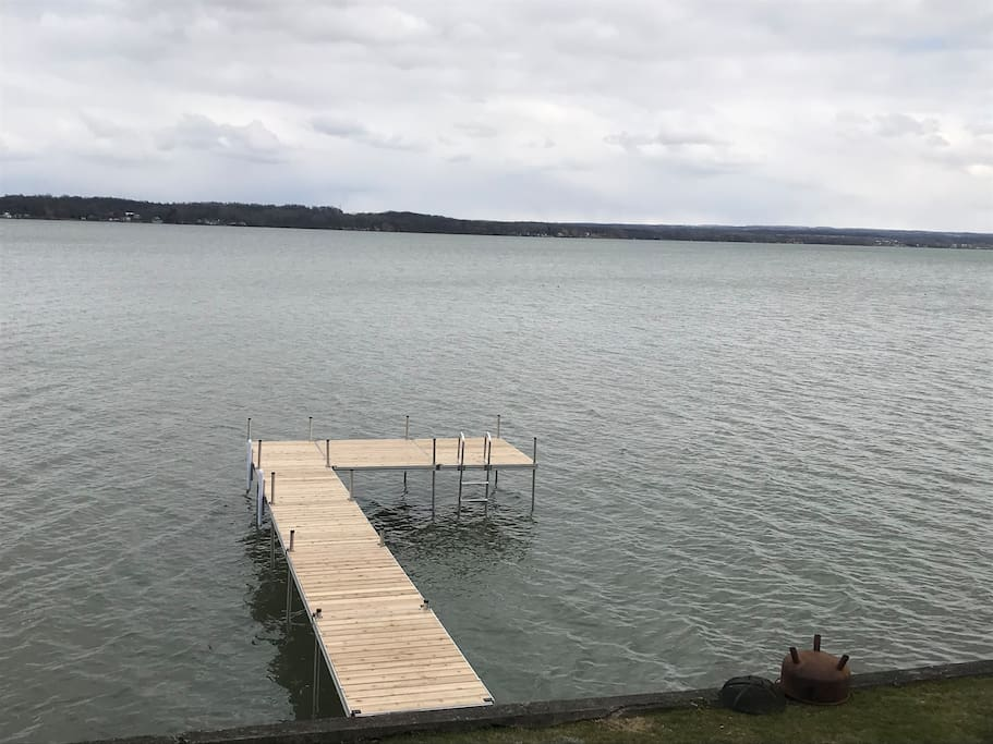 brand new 40 ft dock!