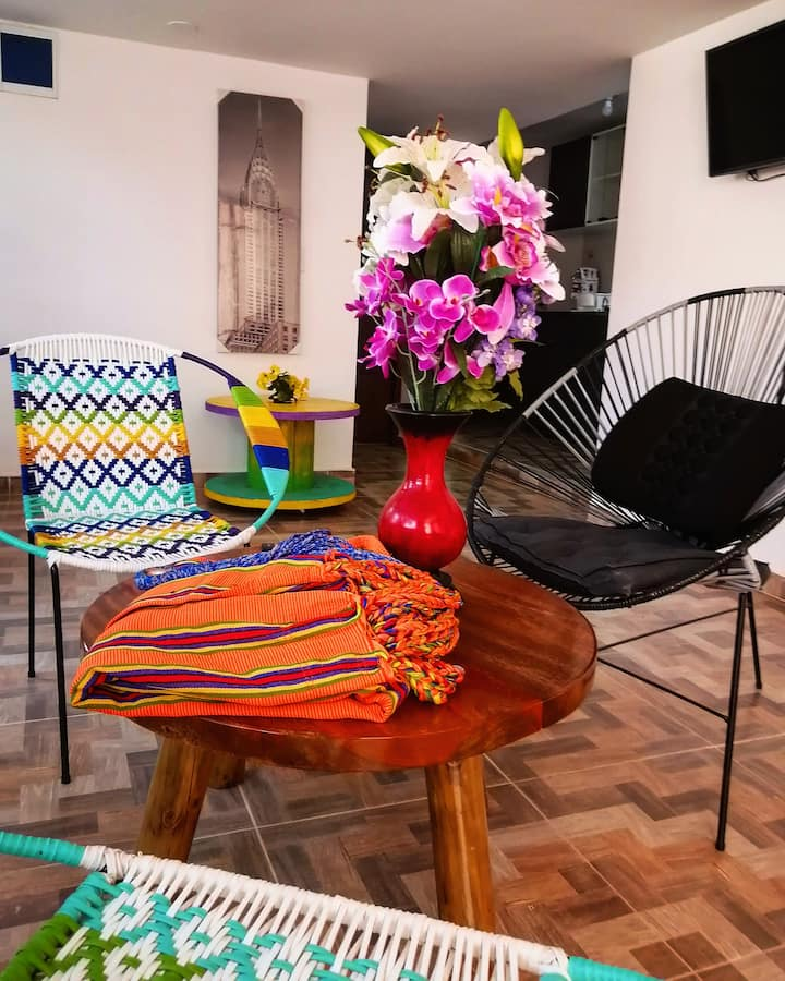 Lovely, Cozy & Private Apt in Santa Marta.