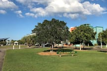 Local park, 1 minute walk from Townhouse