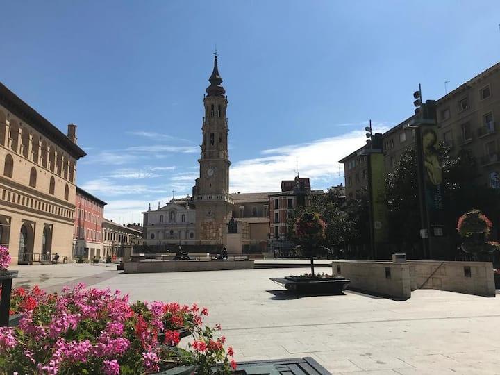 Plaza del Pilar III Balkon