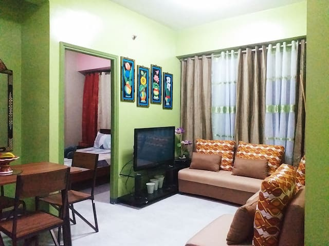 Two Bedrooms Unit with Free Wifi