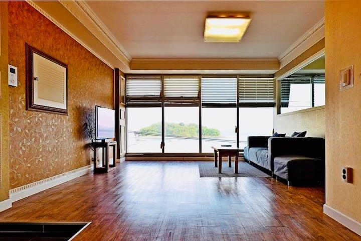 [OPenSale]해상동동다리야경불빛이 보이는 -여수소호하우스2호점32평-sohohouse