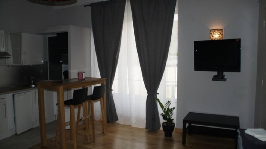 Studio pour location courte durée - Oyonnax