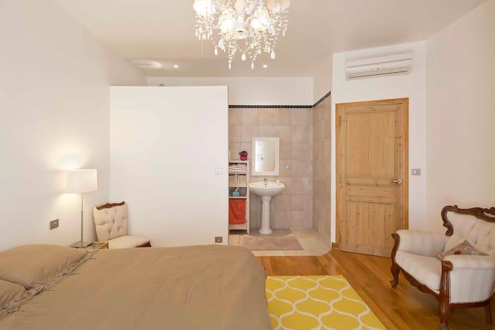 une autre chambre avec une salle d'eau / another room with shower
