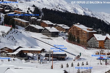 MOTTARET-NEW LUXURY DUPLEX-TOPSITUATION-SKI IN&OUT