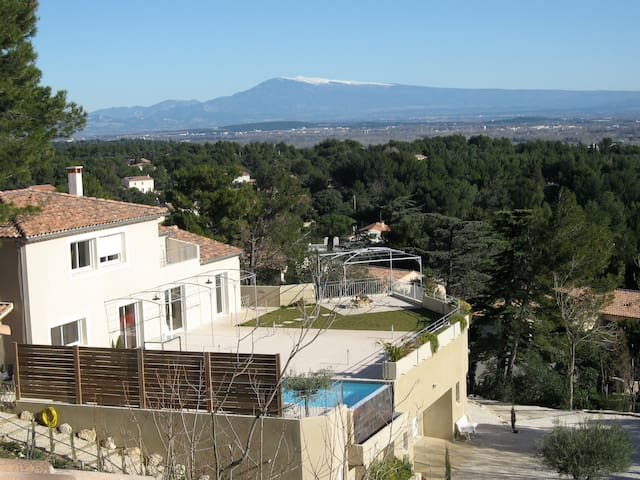 LS6-272 OURIZOUN, wonderful view of the Ventoux - Villeneuve-lès-Avignon - Dom