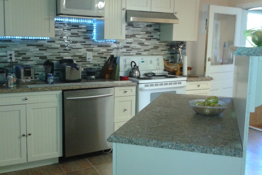 Custom newly renovated Kitchen